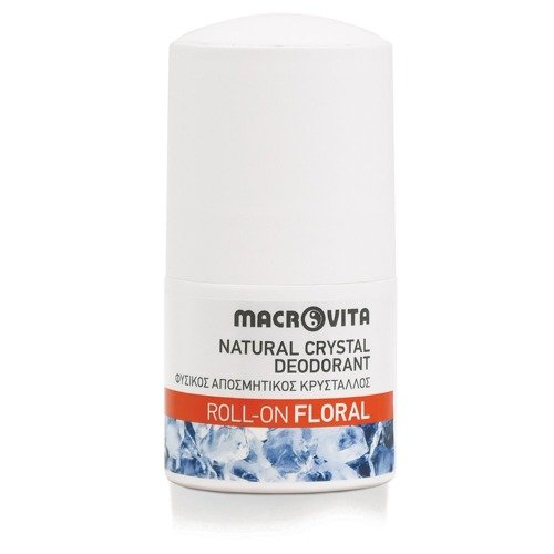 MACROVITA dezodorant roll-on z naturalnym kryształem FLORAL 50ml